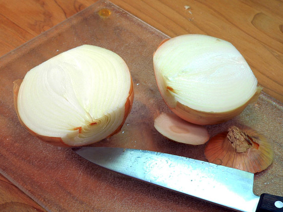 split an onion