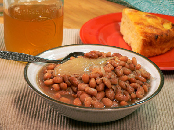 Southern Pinto Beans Serving