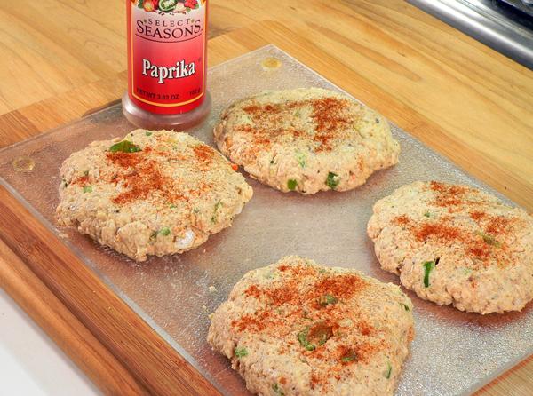 Sprinkle with paprika.
