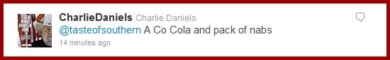 Charlie Daniels tweet #2
