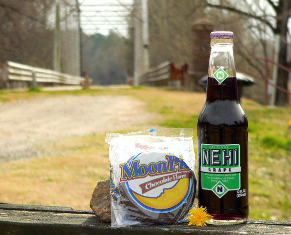 Nehi Grape Soda and a Moon Pie