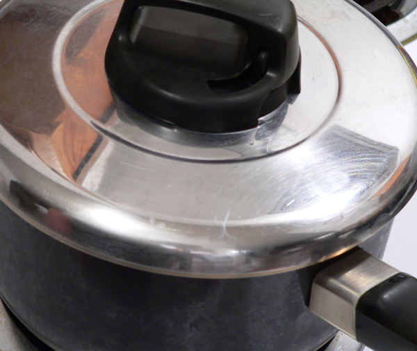Cover the pot and reduce to a low simmer.
