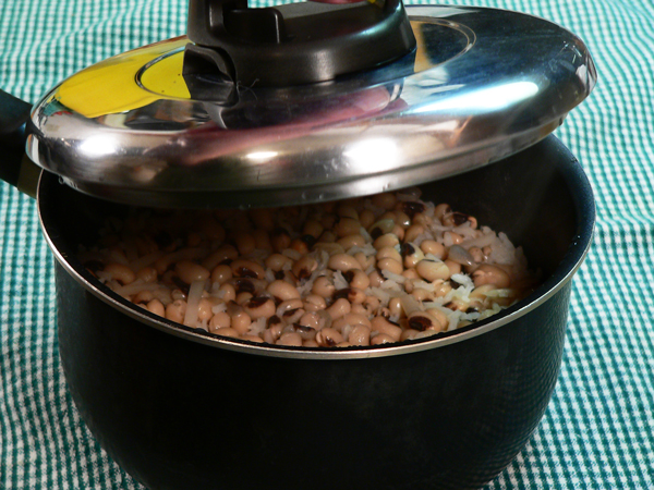 Let it rest for about 5 minutes, then lift the lid to release any steam.