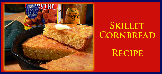 Skillet Cornbread Recipe : Taste of Southern