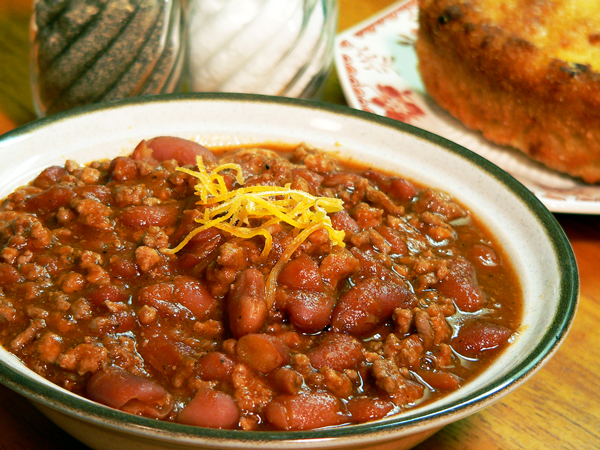 Chili Con Carne Serving