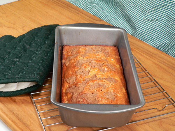 Bake the bread.