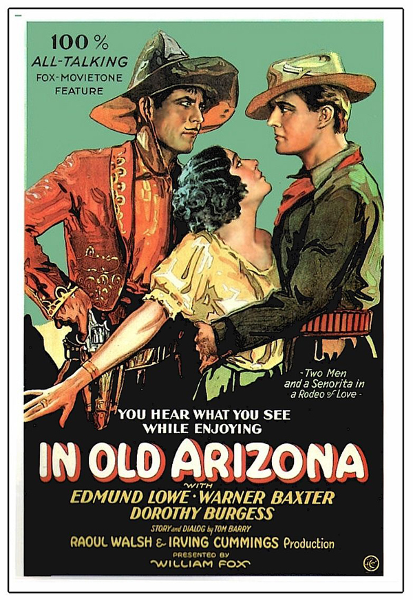 In Old Arizona movie poster