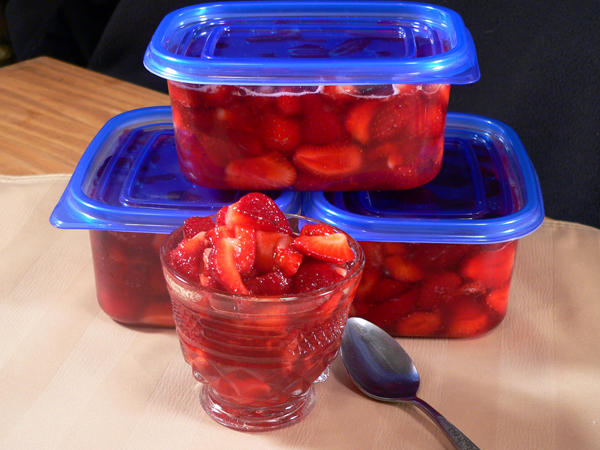 How To Freeze Strawberries In Sugar