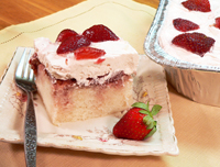 Mama Ruths' Strawberry Cake Recipe