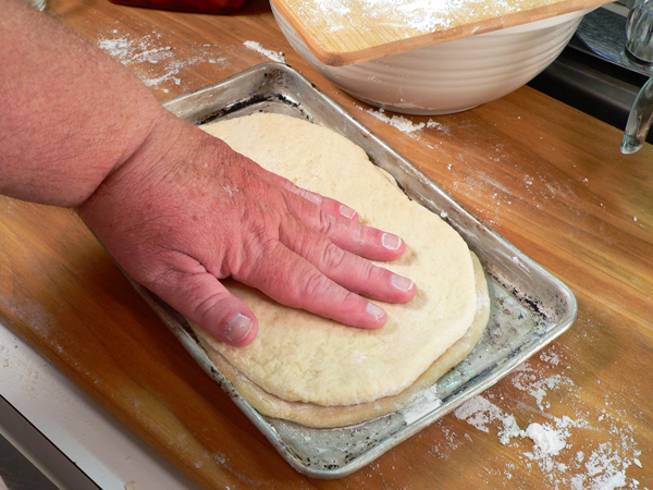 Strawberry Shortcake, press it down gently.