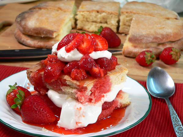 Strawberry Shortcake, add more whipped cream, garnish and serve. Enjoy.