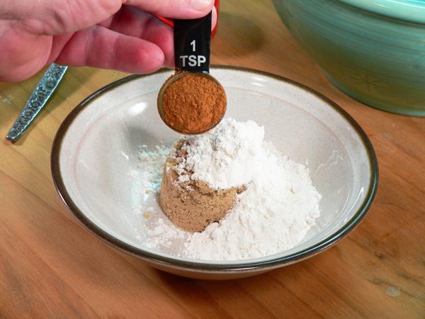 Blueberry Muffins, add cinnamon