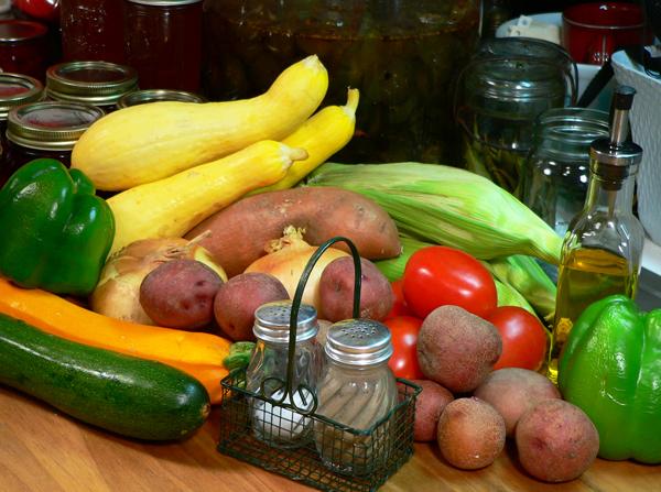 Roasted Vegetables, Ingredients