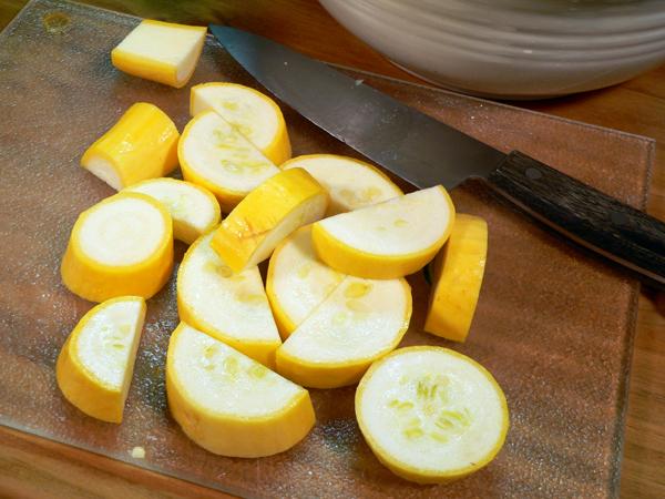 Roasted Vegetables, summer squash.
