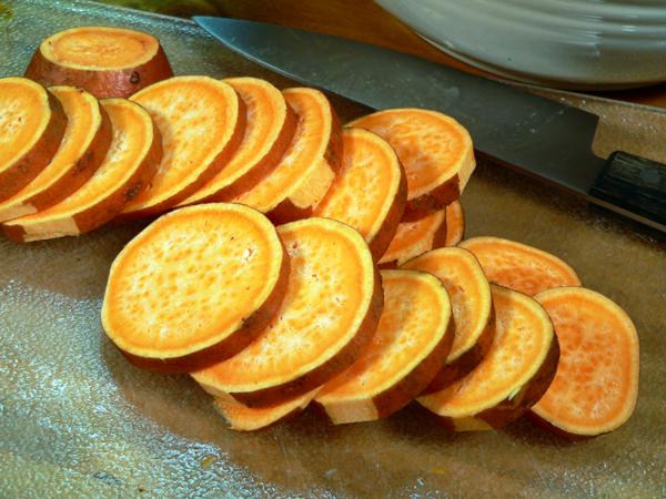 Roasted Vegetables, sweet potato