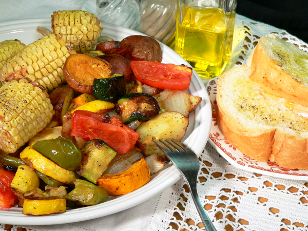 Roasted Vegetables, Serve and Enjoy!