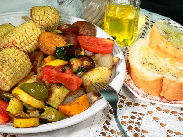 Roasted Vegetables, Serve and Enjoy!