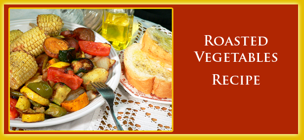 Roasted Vegetables, recipe image