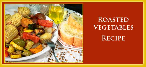 Roasted Vegetables, recipe image