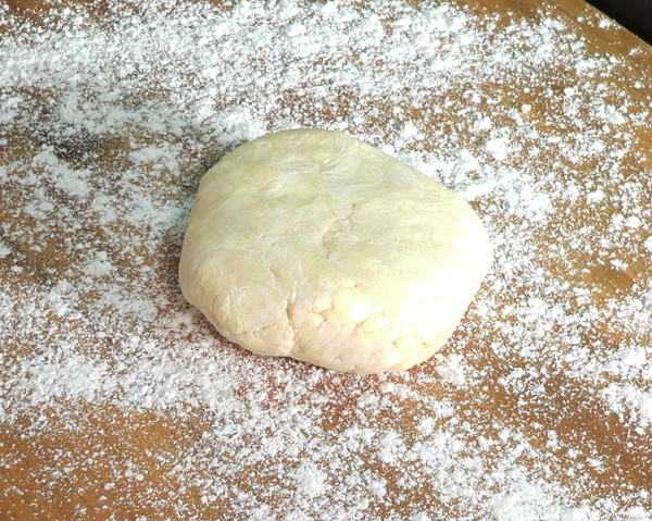 Basic Pie Crust, flour the surface of your counter.