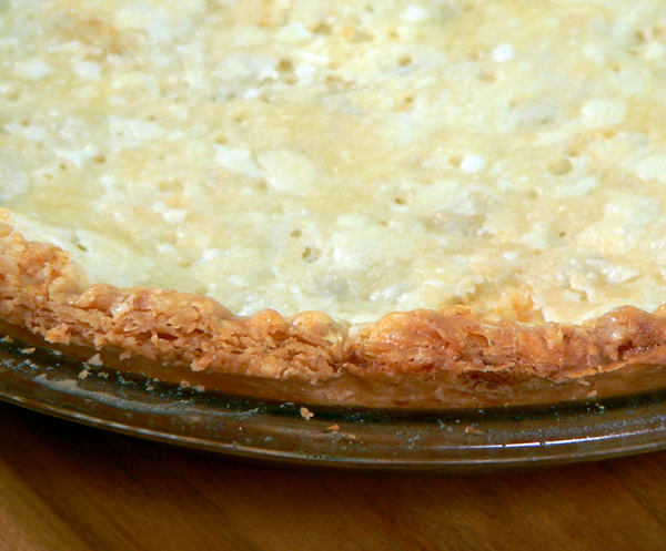 Basic Pie Crust, your pre-baked crust.