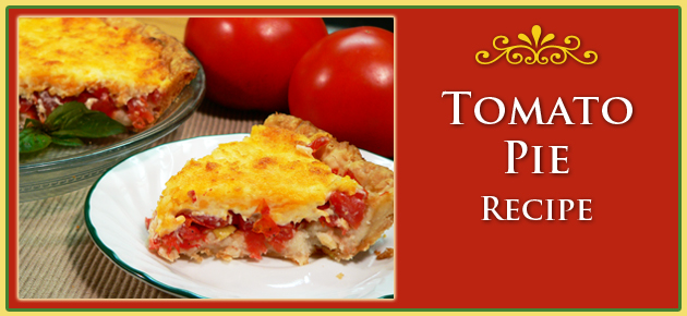 Fresh Tomato Pie Recipe