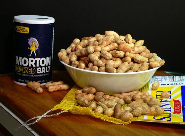 Boiled Peanuts, ingredients.