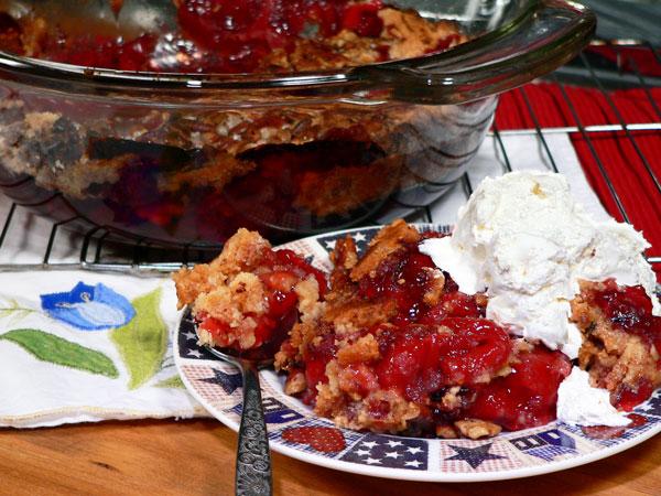 Quick Cherry Cobbler Recipe