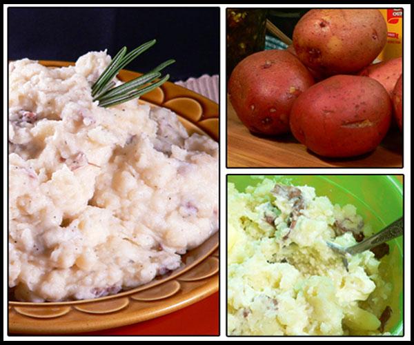 Red Skin Mashed Potatoes