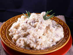 Red Skin Mashed Potatoes Recipe