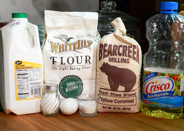 Southern Corn Sticks, ingredients