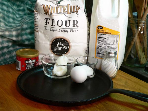 Buttermilk Pancakes Recipe, ingredients.