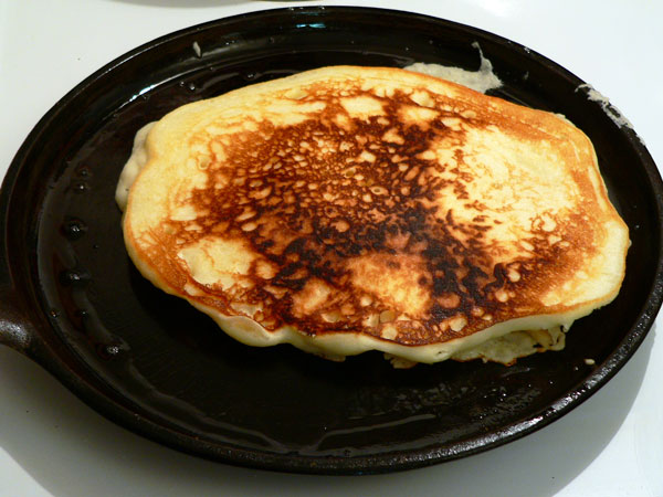 Buttermilk Pancakes Recipe, flip.