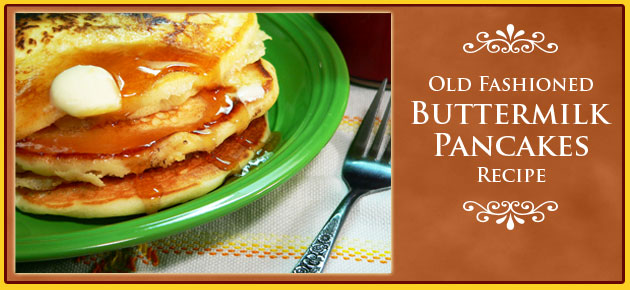 Buttermilk Pancakes Recipe, slider