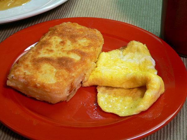 Southern Fried Grits, serve them plain.