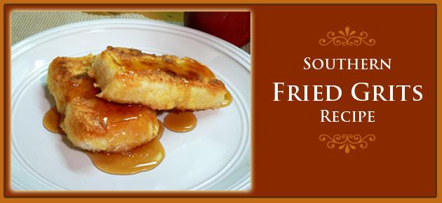 Southern Fried Grits, slider