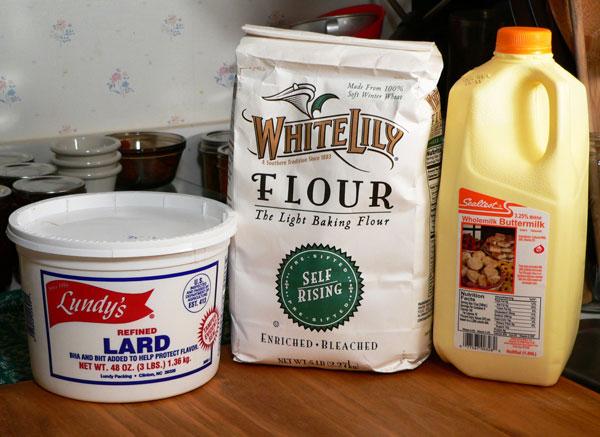 Mini Biscuits Recipe, ingredients.