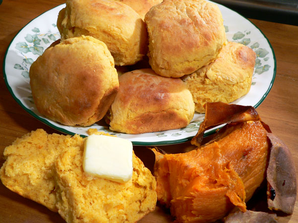 Sweet Potato Biscuits Recipe : Taste of Southern