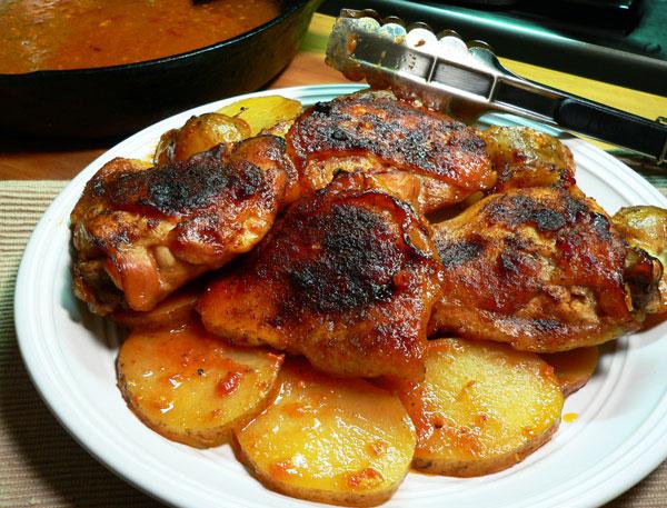 Skillet-BBQ-Chicken_24_serve