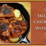 Skillet BBQ Chicken Thighs with Potatoes Recipe