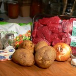 Vegetable Beef Soup, ingredients.