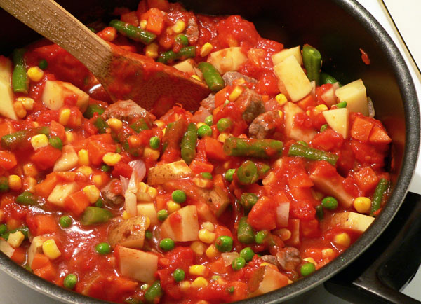 Vegetable Beef Soup, stir well.