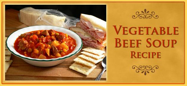 Vegetable Beef Soup, slider