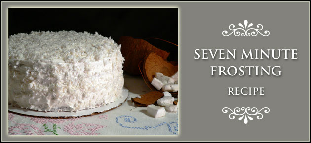 Seven Minute Frosting Recipe
