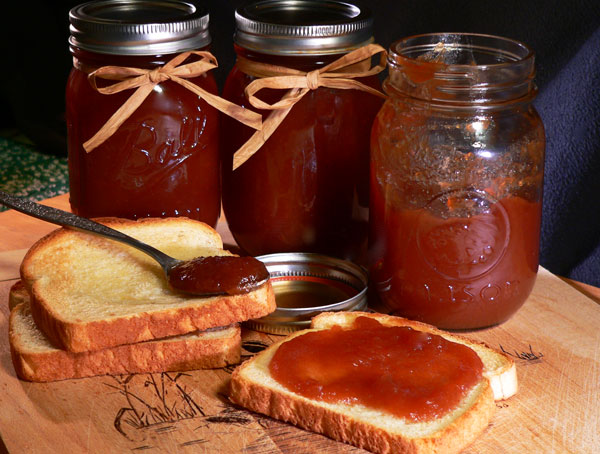 Apple Butter, serving