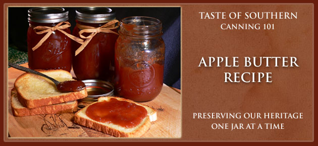 Apple Butter, slider