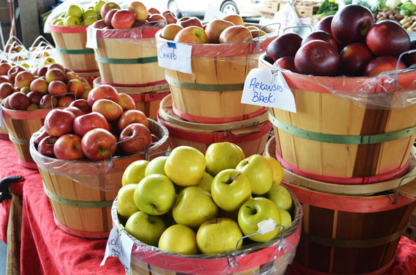 Apple Butter, various varieties of apples.