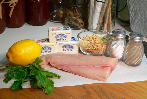Mahi-Mahi, ingredients you'll need.