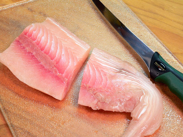 Mahi-Mahi, cut into serving sized portions.