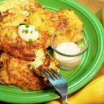 Squash Fritters recipe on Taste of Southern.com.